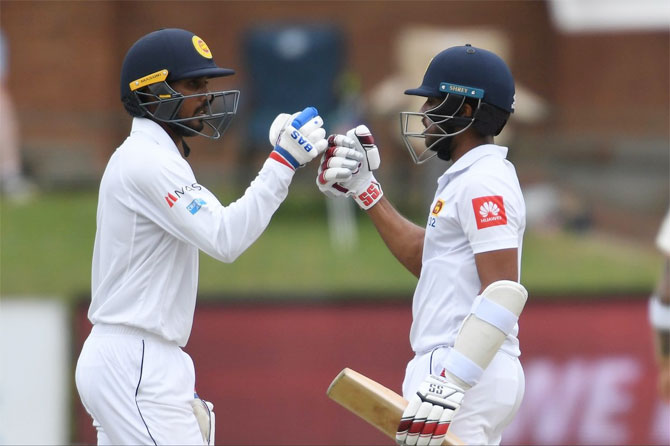 Rediff Cricket - Indian cricket - Sri Lanka record historic series win in South Africa