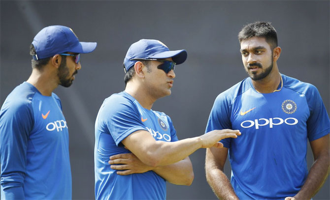 Rediff Cricket - Indian cricket - Should India use Shankar as surprise element at No 4?