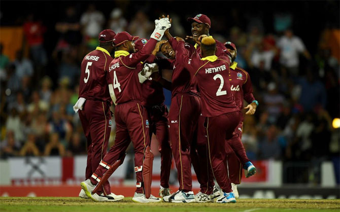 Rediff Sports - Cricket, Indian hockey, Tennis, Football, Chess, Golf - Impressive Windies fight back to level series with England