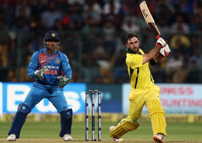 Australia's Glenn Maxwell hit form in the T20s and will look to carry it forward into the ODIs