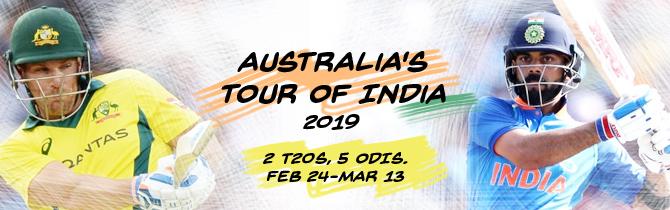 Australia tour of India
