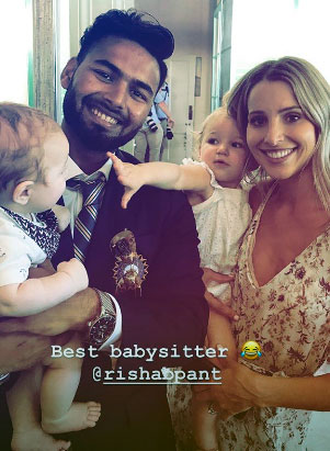 Rishabh Pant, the 'babysitter' in demand