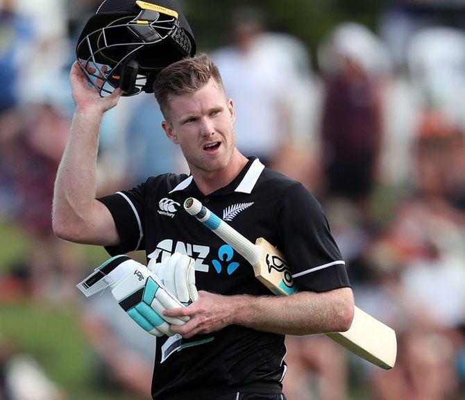 Although he backs playing in empty stadiums, Jimmy Neesham says nothing beats playing in front of fans