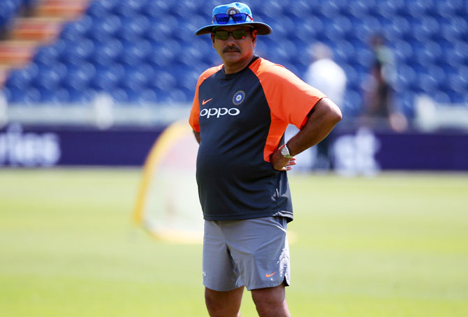 Shastri's contract doesn't have extension clause: BCCI official