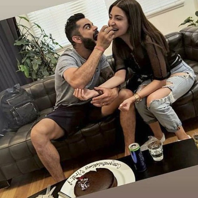 Rediff Cricket - Indian cricket - PIX: Party continues for Virushka in Australia