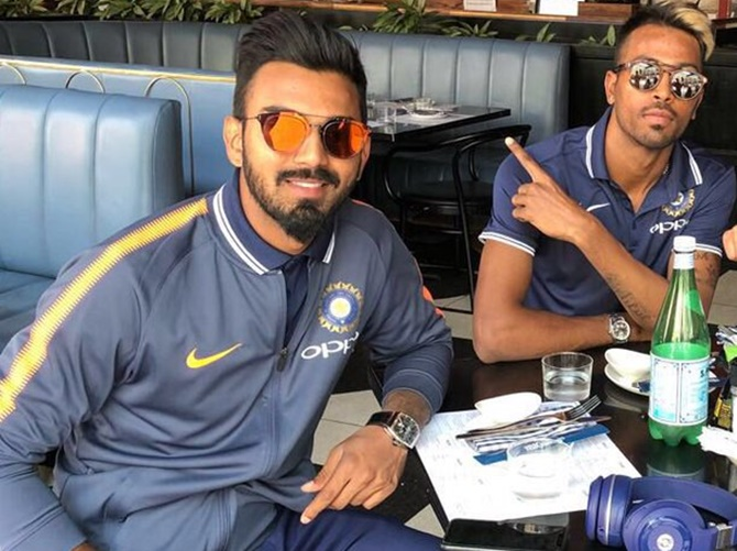 Big relief for Pandya and Rahul