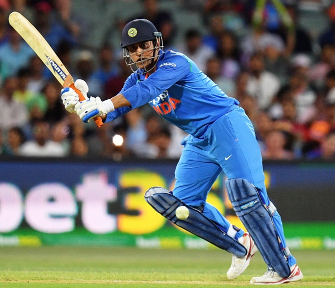 Ganguly bats for Dhoni: 'He has ability to succeed'