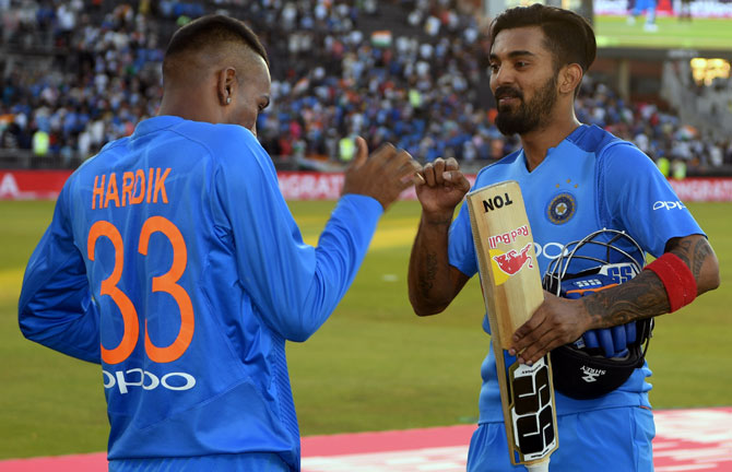 Rediff Cricket - Indian cricket - Pandya-Rahul Effect: CoA mulls over counselling for Indian team