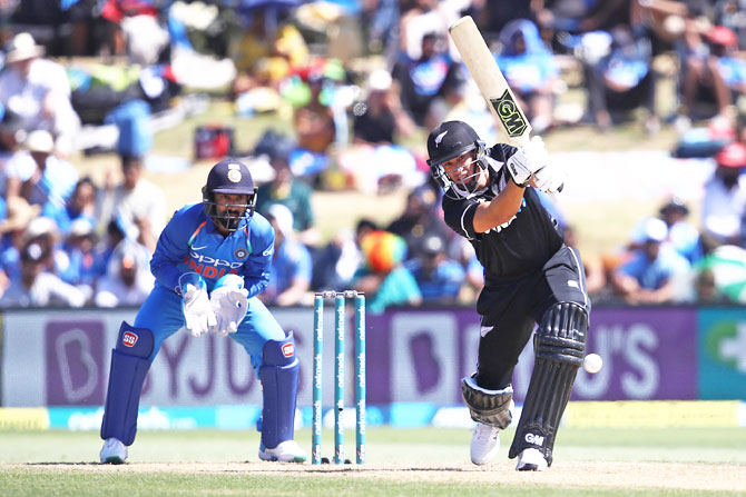 Ross Taylor scored 93 off 106 balls in the 3rd ODI