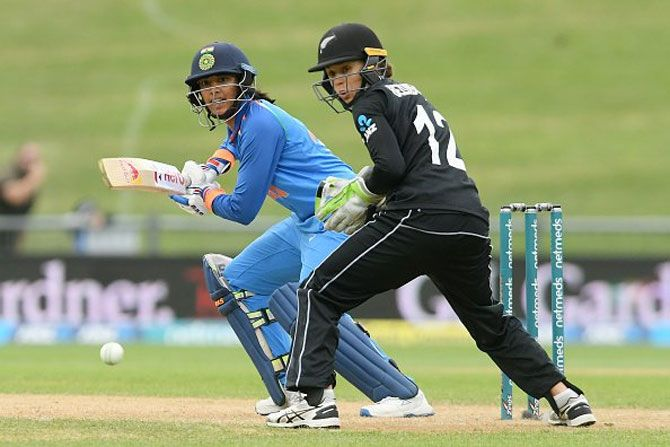 Mandhana was player of the series in the three ODI series against New Zealand, with scores of 105 and 90 in the first two ODIs