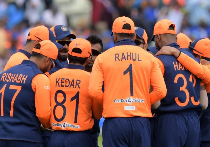 World Cup Mehbooba Blames Orange Jersey For India S Defeat Rediff Cricket