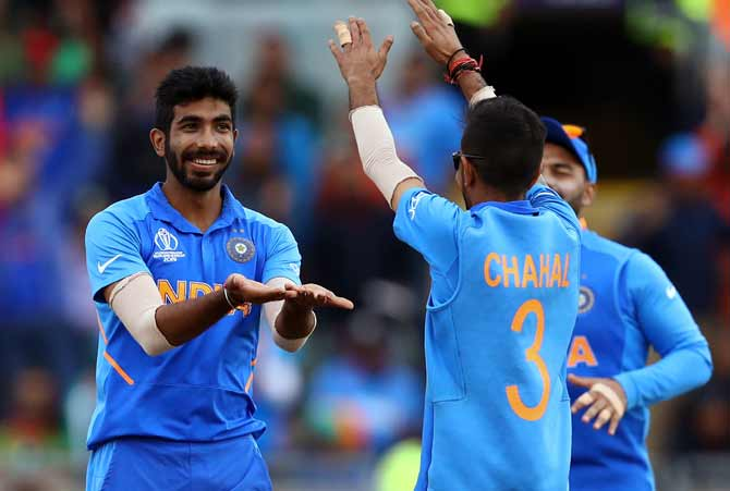 Jasprit Bumrah tops the bowling charts having scalped 17 wickets in the World Cup thus far
