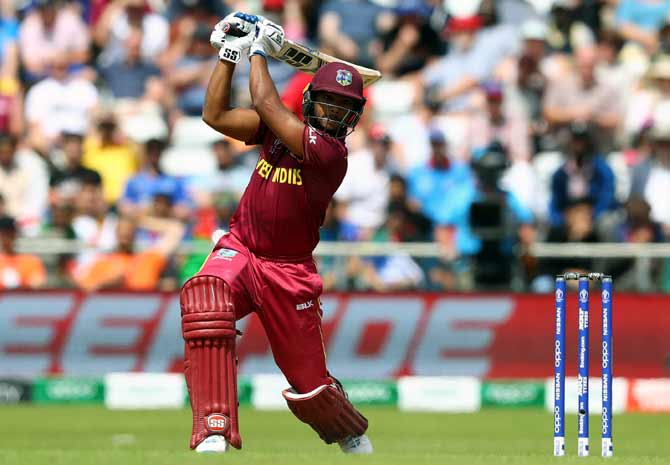 Nicholas Pooran on the attack