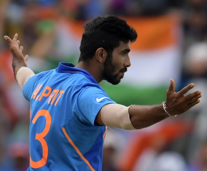 India's bowling spearhead finished with figures of 3 for 37