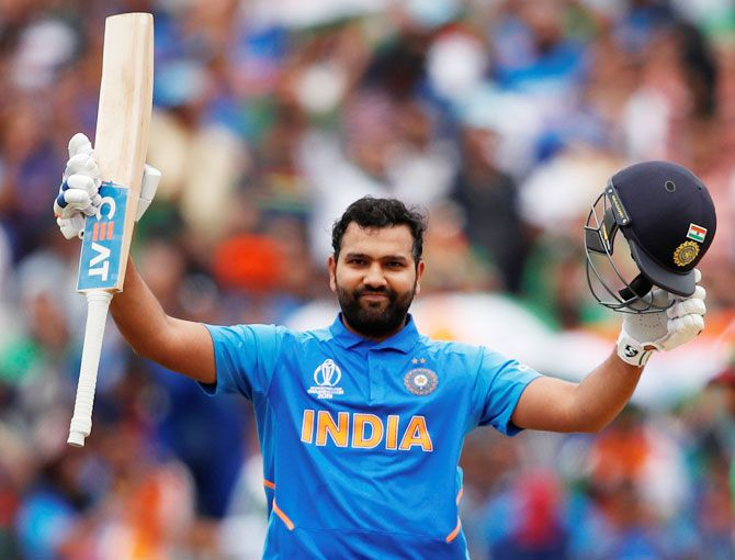 Rohit has scored 9115 runs in 224 ODIs with 29 hundreds and 43 fifties in one-day cricket