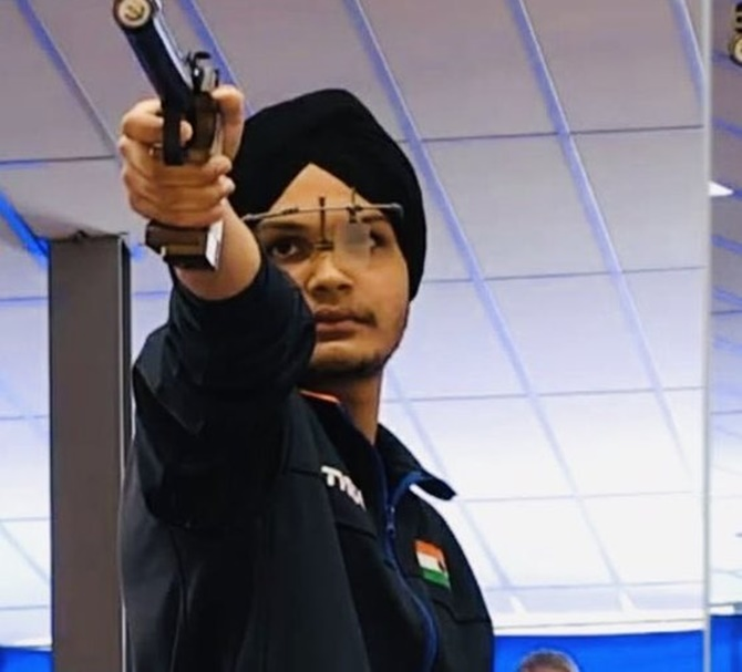Sarabjot adds to India's gold rush in junior shooting