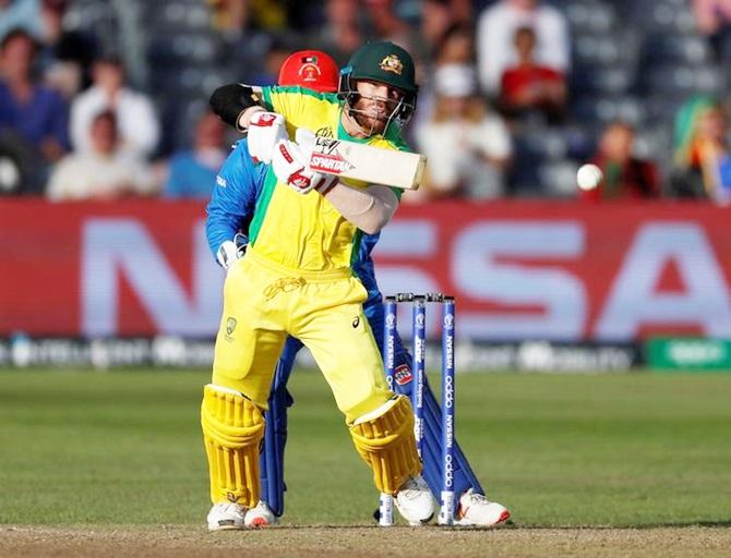 David Warner struck a match-winning 107 against Pakistan on Wednesday