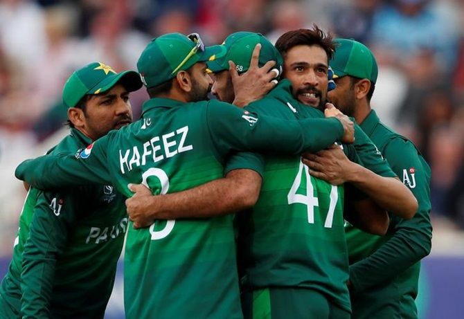 Pakistan were knocked out in the round-robin stage of the World Cup