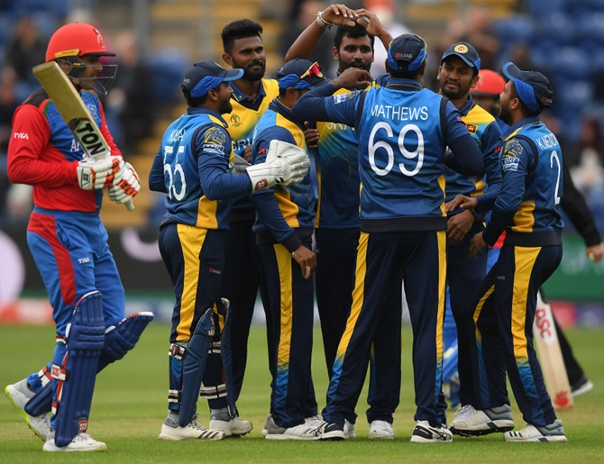 What cost Afghanistan victory against Sri Lanka