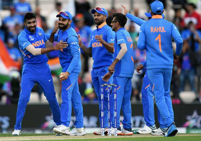 Jasprit Bumrah had figures of 2 for 35 against South Africa. It's the most economical ten-over spell in this World Cup