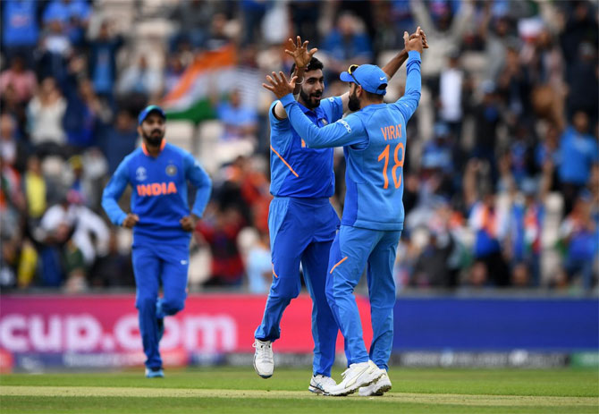 India wiil hope Jasprit Bumrah fires in their World Cup match against Australia on Sunday