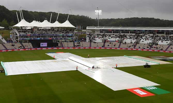 Weather forecast for India vs New Zealand World Cup game