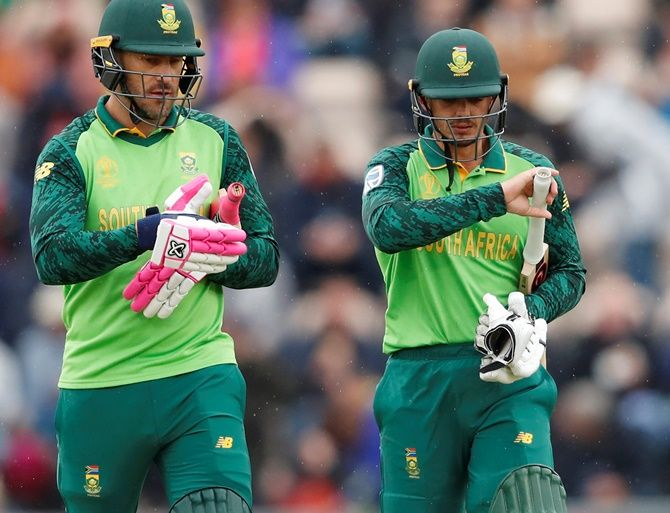 South Africa have been mostly done in by their inexperienced batting line-up, coupled with injuries to a few of their key players