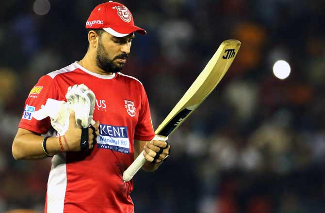 Canada GT20: Yuvraj walks off despite being not out