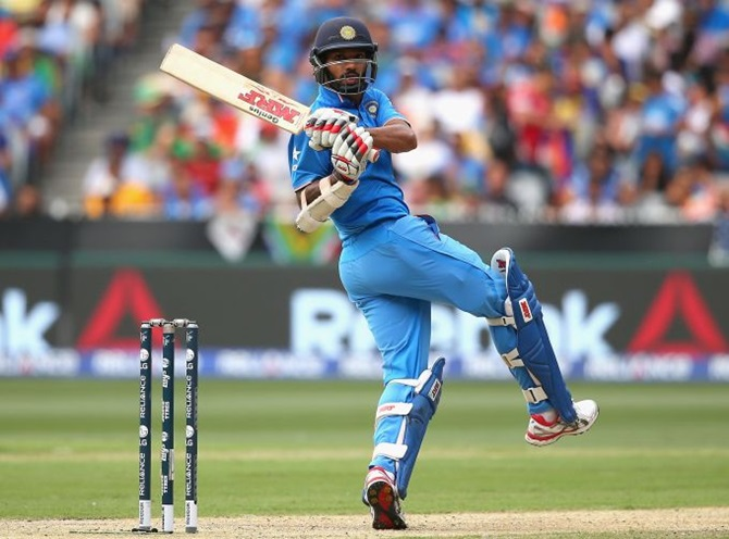 Big blow for India: Dhawan ruled out of World Cup