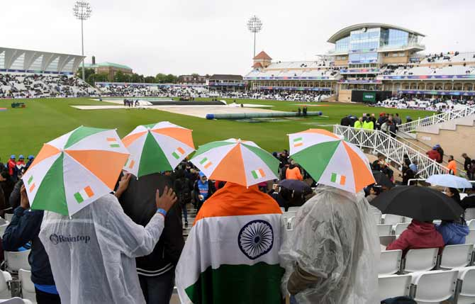 ECB slammed for lack of preparation for rain this World Cup