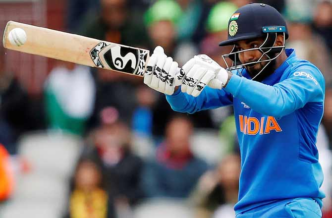 KL Rahul had barely settled at number four when he found himself yoked to Rohit Sharma at the top of the batting order and his cultured 57 in Sunday's blockbuster against Pakistan was a testament of his ability