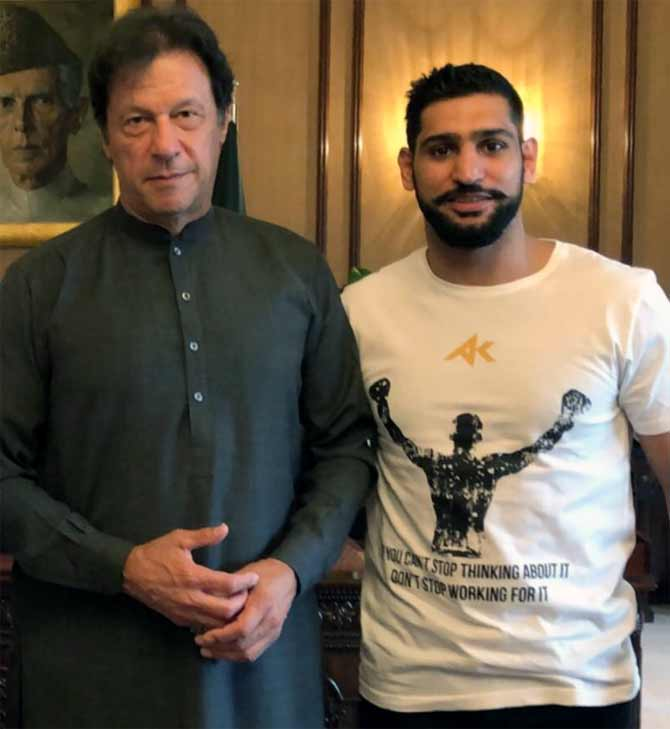 British boxer Amir promises to avenge Pakistan's loss