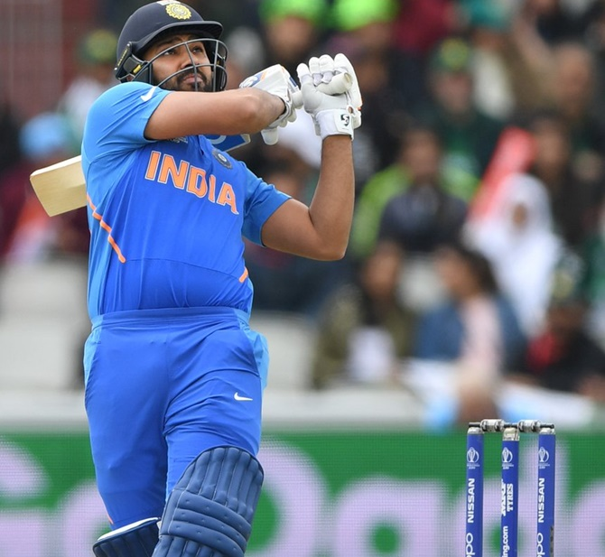 Rohit Sharma on top despite India's WC exit