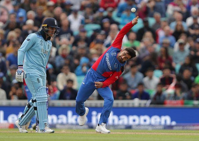 Afghanistan leg-spinner Rashid Khan leaked 110 runs off nine overs