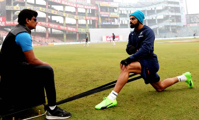 Trainer Basu reunites with Kohli at RCB