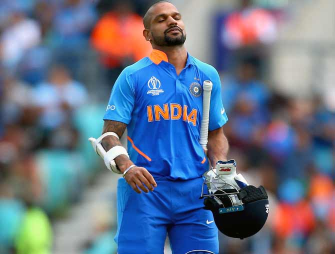Big blow for India! Injured Dhawan out of World Cup