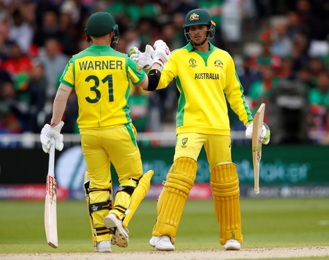 David Warner and Usman Khawaja