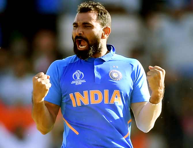 Shami's US visa cleared after initial rejection - Rediff Cricket