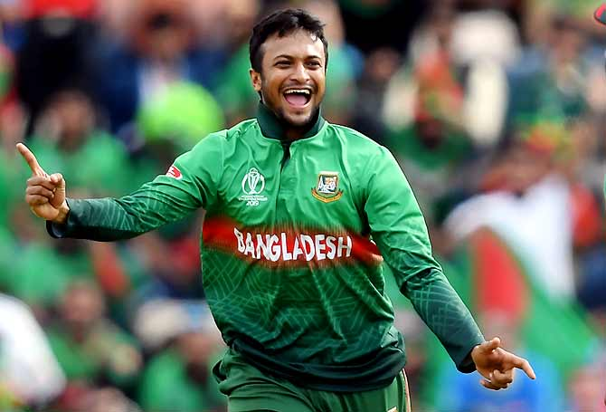 Shakib Al Hasan cited the example of India and said a rotation policy would boost bench strength for Bangladesh where cricket is the most popular sport.