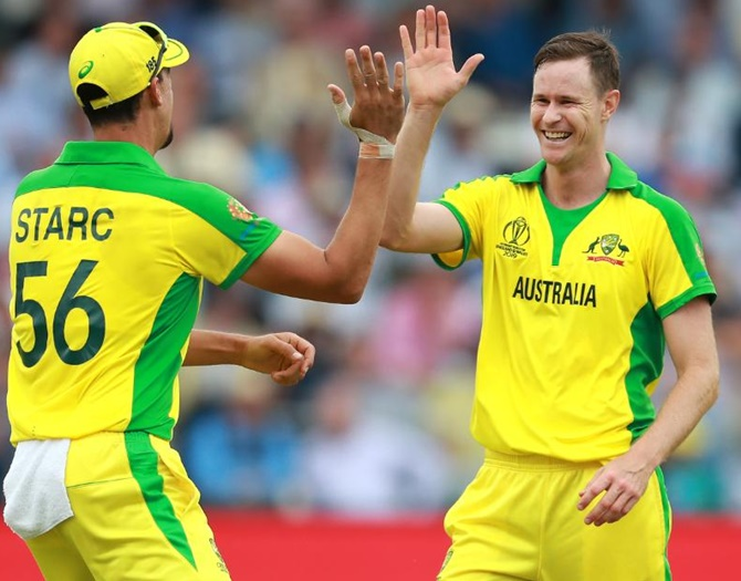 Here's Australia's new deadly bowling duo...