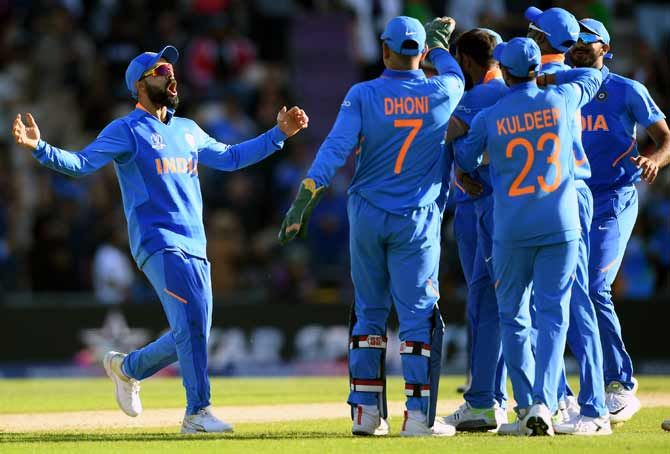 Twice champions, India won their last World Cup meeting against New Zealand at Centurion in 2003 but more pertinently are the only side to have been defeated only once in nine matches at the quadrennial showpiece this year.