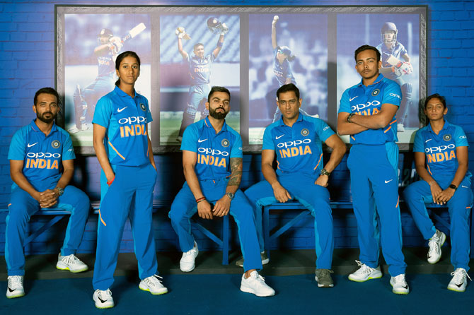 Photos Environment Friendly Jerseys For Team India: Check Out Team India's World Cup Jersey