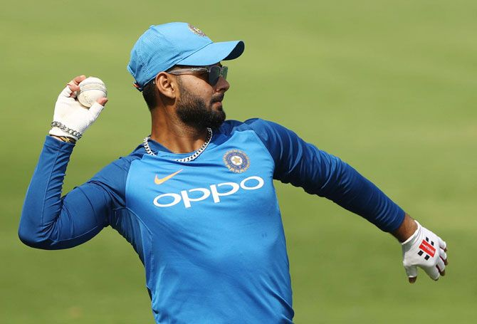 Rishabh Pant has been picked ahead of Dinesh Karthik and will have to justify his spot before the World Cup