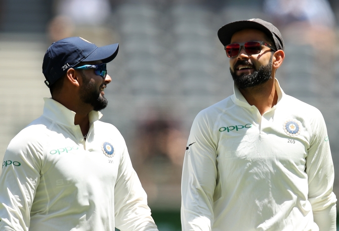 Gambhir backs Pant, says Kohli should talk to him