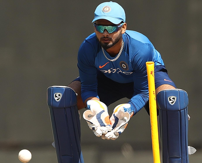 Rahane has a word of advice for Rishabh Pant