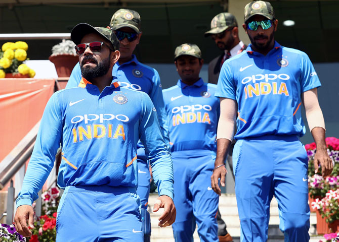 India was granted permission to wear military caps: ICC