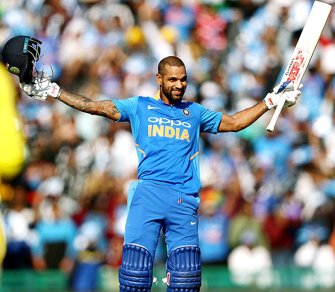 Secrets of Dhawan's return to form