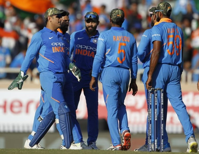 Why Team India wore camouflaged caps...
