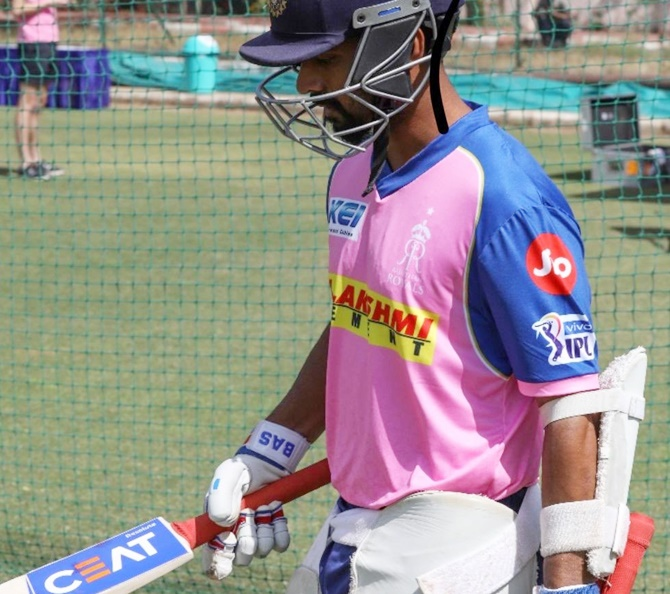 Royals trade Rahane to Capitals; get Markande, Tewatia