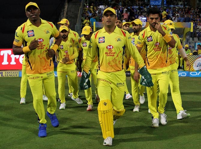 CSK squad tests negative, start training from Sept 4